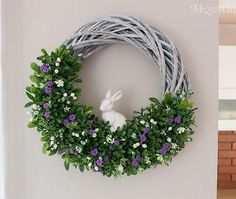 Christmas Bows, Diy Party Decorations, Easter Wreaths, Grapevine Wreath, Home And Garden, Crafts, Home Decor, Gardening, Palmas