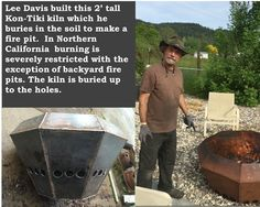 Make A Fire Pit, Fire Pit Backyard, Bury, Northern California, Farmer, Farmers