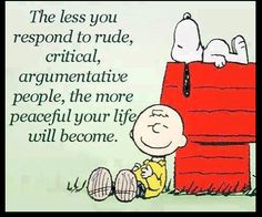 Life-Critical, Argumentative People=Peace