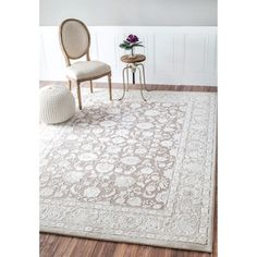 Soft and plush, the pile on this contemporary area rug is made from polypropylene and polyester to prevent shedding, and makes a fun addition to any fashionable space.  Add a sense of texture to a modern living room with this attractive rug.