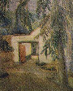 Indigenismo - José Sabogal - Ingreso al convento de Ocopa