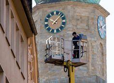 Good morning busy Brückstraße!  #Dortmund #Reinoldikirche #work #Brückstraße