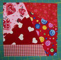 Ms. Elaineous Teaches Sewing: Crazy Quilt Block