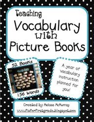 vocabulary with picture books