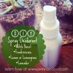 So Simple Spray Deodorant!