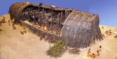 iroquois longhouse diorama anonoymous.jpg (742×375)