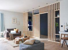 Simple Home Decor .Simple Home Decor Living Room Partition, Room Partition Designs, Casa Milano, Faux Walls, Separating Rooms, Interior Design Inspiration, Cheap Home Decor, Home And Living, Living Spaces