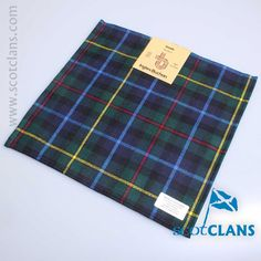 Smith Modern Tartan Pocket Square from ScotClans