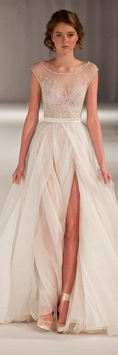 22 most unique ideas about nontraditional wedding dress. are you a bride to be and want to get rid of a traditional wedding gown discover the most trendy nontraditional wedding dress to get a fashio. Wedding Dress Tea Length, Wedding Dress Organza, Wedding Dress Sleeves, Perfect Wedding Dress, Bridal Dresses, Wedding Gowns, Lace Dress, Dress Prom, Prom Gowns