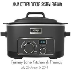 Ninja Kitchen Cooking System Giveaway Ending on: 08/06/2014 Open to: United States http://www.giveawaypromote.com/2014/07/28/ninja-kitchen-cooking-system-giveaway/?utm_campaign=coschedule&utm_source=pinterest&utm_medium=Giveaway%20Promote%20(Can't%20Miss%20Giveaways)&utm_content=Ninja%20Kitchen%20Cooking%20System%20Giveaway