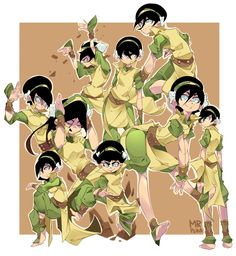 Female: Expressions and Poses The Last Avatar, Avatar The Last Airbender Art, Avatar Aang, Character Drawing, Character Concept, Girl Cartoon, Cartoon Art, Chica Anime Manga, Anime Art