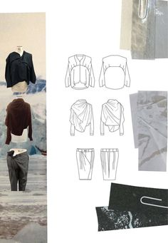 Fashion Sketchbook - fashion drawings & textile samples; fashion portfolio // Chloe Bayles