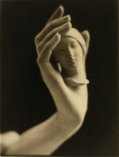 """Head and Hand"", 1925, Margaret Watkins"
