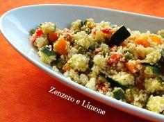 COUS COUS LIGHT | ricetta vegetariana | Zenzero e Limone