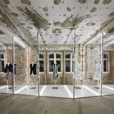 Felipe Oliveira Baptista Exhibition. Famous MUDE - Museum of Design and Fashion, Lisbon.