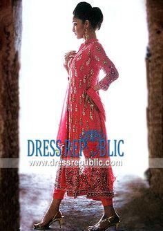 Cherry Helena, Product code: DR1597, by www.dressrepublic.com - Keywords: Shalwar Kameez Designers Pakistan, Pakistani Shalwar Kameez Designers Pakistan