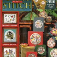 CONDITION : NEW condition with tiny signs of handling and shelfwear. Has been in the shelf for a while. Cross Stitch Magazines, Cross Stitch Books, Plastic Canvas, Cross Stitch Designs, Cross Stitch Patterns, Blackwork, Gift Tags, Needlework, Embroidery Designs