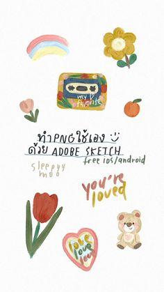 Pastel Wallpaper, Wallpaper Iphone Cute, Kids Diary, Instagram Frame, Journal Stickers, Cute Doodles, Cute Cartoon Wallpapers, Good Notes, Cute Illustration