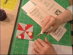 How to Make Quilts : Learn the Basics of Thangles-Jeanette White, Piper's Q & C-Video#14