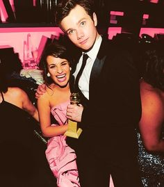 Chris Colfer & Lea Michele
