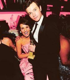 Chris Colfer & Lea Michele