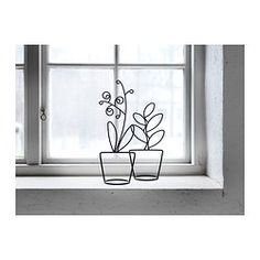These would look cute on the window sill above the kitchen sink. LIKNANDE Decoration, set of 2 - IKEA