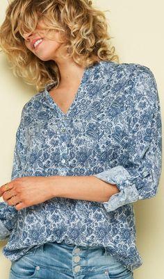 #summer #fashion Blue on blue