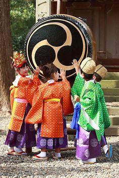 A big drum, Kazusaichinomiya, Japan Copyright: Takero Kawabata