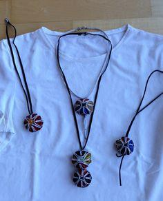 ketting-hanger van Nespresso-koffie kuipjes Necklace Nespresso DIY