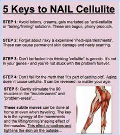 5 Keys To Nail Cellulite! !! #Health #Fitness #Trusper #Tip