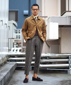 Japanese Suit, Japanese Outfits, Stylish Jackets, Stylish Men, Blazer Outfits Men, Herren Style, Casual Wear For Men, Winter Fashion Outfits, Gentleman Style