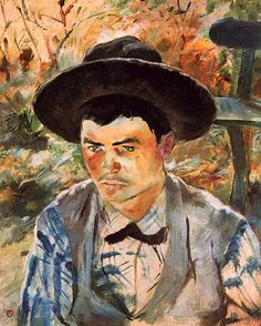 Toulouse-Lautrec  The Young Routy in Celeyran