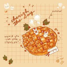 Orange Aesthetic, Aesthetic Food, Cute Food Art, Cute Art, Cute Screen Savers, Character Design Girl, Food Cartoon, Food Drawing, Illustrations And Posters