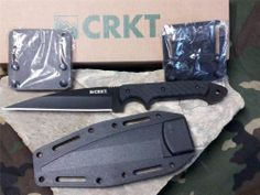 "CRKT Dragon Fighting Knife Wharncliff 9"" G10 Full Tang Black Crawford 20!0K"