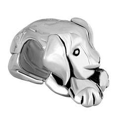 Pugster Sleepy House Dog Bead Charm Fit Pandora Charms
