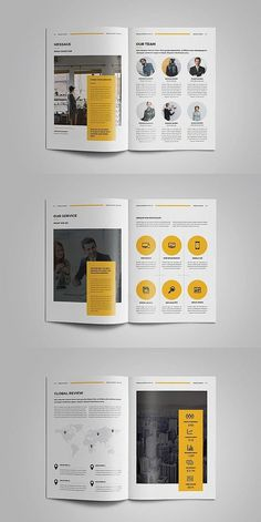 Report - InDesign Annual Report Template -Annual Report - InDesign Annual Report Template - Annual Report Template Project Proposal Corporate Identity Template, Annual Report by MrTemplater on . Booklet Design Layout, Page Layout Design, Design Brochure, Magazine Layout Design, Brochure Layout, Graphic Design Layouts, Brochure Ideas, Company Brochure, Layout Template