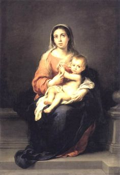 Madonna and Child - Bartolome Esteban Murillo