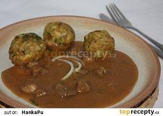 Německé, snad švábské knedlíky Kitchen Hacks, Beef, Ethnic Recipes, Food, Meat, Essen, Meals, Yemek, Eten