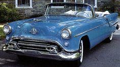 1954 Oldsmobile Ninety-Eight Holiday Convertible