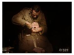 A New Zealand soldier undergoing a dental extraction at the New Zealand Dental Corps hospital in Nielles-lès-Bléquin, France, during the First World War. November 1917. In the early stages of the war, between a quarter to a third of recruits were rejected for service on account of dental defects. The New Zealand Dental Association, seeing an opportunity to raise their profile, took up the challenge to treat these men and contribute to the war effort. They lobbied the Defence Force to create…
