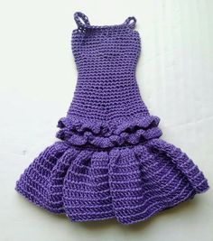 Crocheted Barbie dress, Barbie Fashion, Doll Dress, Handmade Barbie Outfit, Girl Gift, Barbie Clothes, Doll Dress up, by TheDriftingStones on Etsy