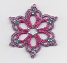Le Blog de Frivole: Pretty Beaded Flower