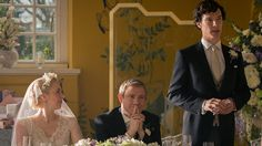 Steven Moffat Explains the Origins of Sherlock's Best-Man Speech