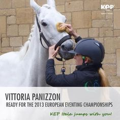 Vittoria Panizzon ready for the European Eventing Championships
