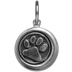 Waxing Poetic Charm Whimsies Dog Paw