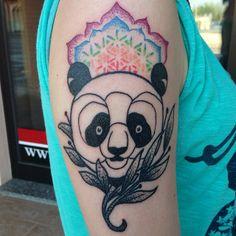 Panda-mandala