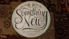 Getting Crafty with the Something New Entertainment Sign