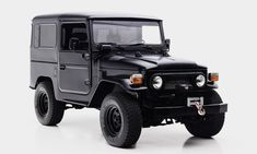 The All-Black 1979 Toyota FJ40