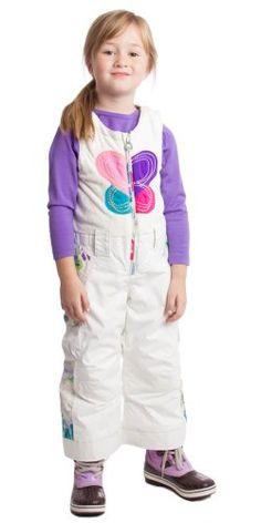 Obermeyer Love Ski Bib -Kids « Clothing Impulse.... Love the lil purple boots!!!