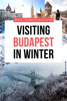 Visiting Budapest in Winter - Here are 10 reasons why you should visit Budapest in Winter. Whether you're visiting in December - Travel Europe Cheap, European Travel, Christmas In Europe, Christmas Markets, Vacation Trips, Vacation Spots, Vacation Ideas, Best Winter Destinations, Europe Destinations